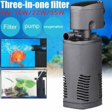 600-1600L/H Aquarium Fish Tank  Filter Internal Submersible Pond Aqua Water Pump