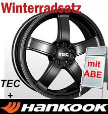 """16"""" TEC Schwarz Winterräder 215/70 Hankook Winterreifen für KIA Sportage SL SLS"""