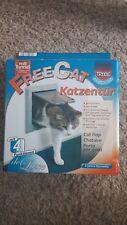 Trixie Katzenklappe FreeCat Katzentür mit 4 Funktionen