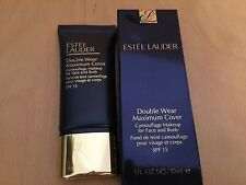 ESTEE LAUDER Double Wear Maximum Cover Camouflage Makeup~30ml Cream Vanilla New
