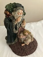 June Mckenna Santa Claus Figurine Rare Limited Edition Signed Collectible 1989