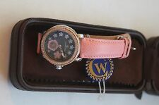 NEW Constantin Weisz watch 11q144cw pink with flowers