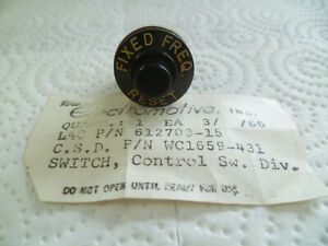 "Switch, Control, ""Fixed Freq - Reset - P/N: WC1659-431"