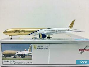 Herpa Wings Gulf Air Boeing 777-300ER 1:500 VT-JEG 518543