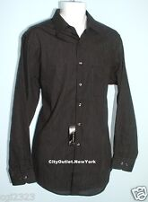 VIA EUROPA Men's Size L 16 34/35 Wrinkle Resistant Dress Shirt NWT