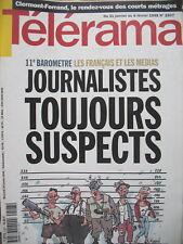 2507 JOURNALISTES ET MEDIAS COUV. TIGNOUS TELERAMA 1998