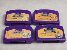 4 Lot Leap Pad, Leap Frog, Leap 1 Phonics, A Day at Moss Lake, Nemo, Pooh, Bible