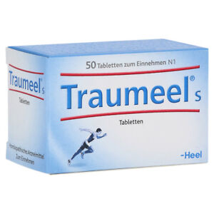 HEEL Traumeel S 50 Tablets Homeopathic Remedies