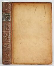 1846 PICTURESQUE ANTIQUITIES OF SPAIN MONUMENTS OF ART ARCHITECTURE LEATHER