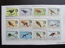 XL4890: British Honduras Complete QEII Mint Stamp Set to $5 (1962)