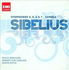 Sibelius: Symphonies 4, 5, 6, & 7 / Tapiola, New Music
