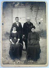PHOTO FIN XIX FAMILLE RURALE HOMMES ET FEMMES e873