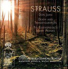 Richard Strauss: Don Juan; Death and Transfiguration; Till Eulenspiegel's...