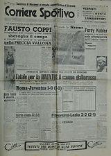 CORRIERE SPORTIVO N°18 del 2.MAG.1950-FAUSTO COPPI TRIONFA NELLA FRECCIA VALLONA