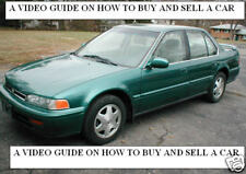 HOW TO BUY A CAR SELL A CAR VIDEO GUIDE