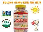 Kids Calcium Gummy Premium Calcium Gummies  D3 USDA Organic FRESH NON-GMO FDA