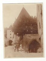 8/493  FOTO PAPPENHEIN 1929 TORBOGEN  belebt