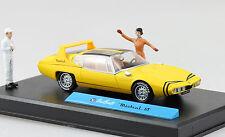 Michel Vaillant Mistral GT Sportwagen Diorama 1:43 Altaya/IXO Modellauto