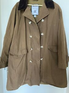 Barbour Alexa Chung Maud Size 16 Brown