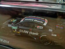 NEU OVP ORIGINAL BMW  /M4 DTM 2014 * Bruno Spengler * BMW Bank Modellauto 1:43