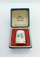 More details for lord nelson pottery thimble floral design boxed