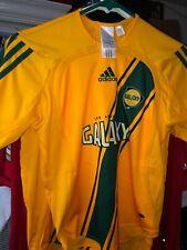 Rare 01/2006 Authentic Yellow Los Angeles Galaxy MLS Adidas Jersey Shirt Large