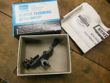 Craftsman #9-25731 laminate trimmer attachment for router original box old tool