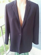 EUC ANDERSON COUTURE black blazer sz.M one button closure