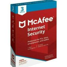 McAfee Internet Security 3 Device for Mac and Windows 10