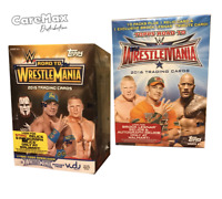 2015 & 2016 Topps WWE Wrestling Road To Wrestlemania Blaster Boxes (2 Box Lot!)