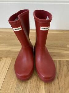 Hunter Rain Boots Kid Size 11
