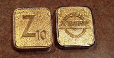 Franklin Mint Scrabble Pieces