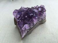 1 Amethyst Geode Crystal Quartz Amethyst Druze Cluster Gemstone Specimen Uruguay