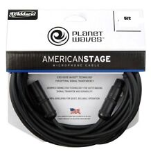 D'addario PW-AMSM-05 American Stage Microphone Cables 5ft