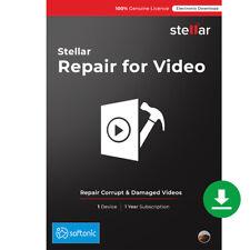 Stellar Repair for Video Software Repair Corrupt Mp4, mov Files| Windows| Key