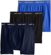Calvin Klein Men's Cotton Stretch Multipack Boxer Briefs,, Black, Size Medium Um