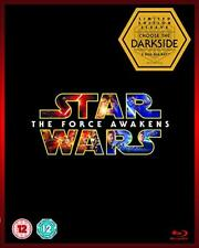 STAR WARS THE FORCE AWAKENS (DARKSIDE SLEEVE) [BLURAY] OB - NEW & SEALED