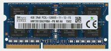 4GB PC3 SO-DIMM PC3L-12800S 2Rx8 1600MHz Notebook Laptop DDR3 Ram Hynix
