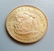 53128689 - Goldmünze Chile 50 Pesos 1969
