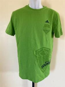 New Seattle Sounders FC Youth Sizes M-L-XL Green Adidas Shirt