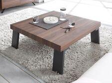 Quadratische Couchtische aus MDF -/Spanplatten in Holzoptik zum Zusammenbauen