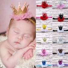 Lovely Kids Girl Toddler Lace Crown Hair Band Headwear Headband Accessories DIY