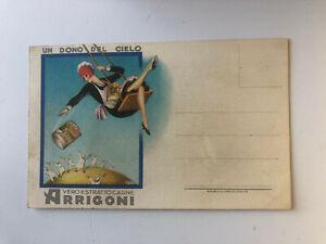 Cartolina Pubblicitaria Estratto Carne Arrigoni Un dono del Cielo Genova c13