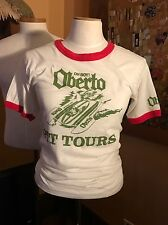 Vintage Oh Boy! Oberto Hydroplane Racing T-Shirt - Size M - COOL!!!