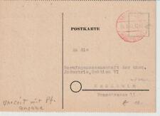NACH 45, Gebühr bezahlt / Barfreimachung, Ravensburg, 26.2.48