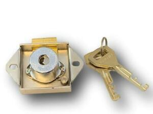 DRAWER / TILL LOCK, HIGH SECURITY ABLOY STYLE KEY WITH DISC DETAINER SYSTEM