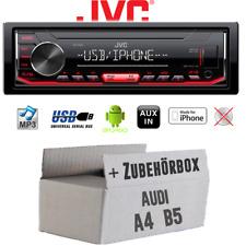 Autoradio jvc para audi a4 b5 mp3 USB android iphone kit de integracion