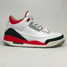 Jordan 3 Retro Fire Red (2013) Size: 12