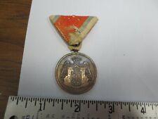 Original Kingdom of Serbia Civil Merit Medal w/ Ribbon