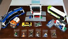 FREE SHIPPING! LEGO City 8404 Public Transport Station Car Train Truck People